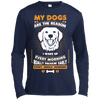 Image of My Dogs Are the Reason Sport-Tek  Moisture Absorbing T-Shirt