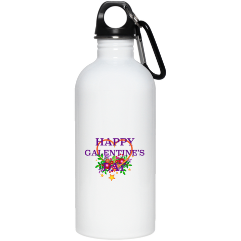 Happy Galentine's Stainless Steel Water Bottle
