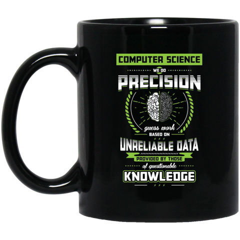 Computer Science Pride 11 oz. Black Mug