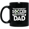 Image of Favorite Soccer Player Black Mugs