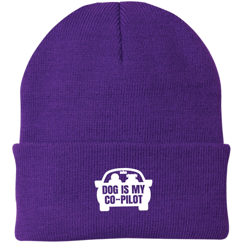 Dog is My Copilot CP90 Port Authority Knit Cap