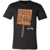 Image of Free Hugs for Dogs Unisex Jersey Short-Sleeve T-Shirt