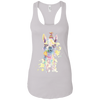 Image of Alpaca Next Level Ladies Ideal Racerback Tank - Sweet Dragon Mama