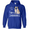 Image of Pug Love Rescued Me Pullover Hoodie