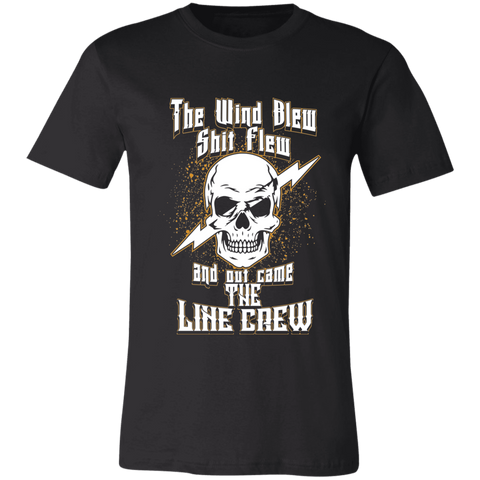 Out Came the Line Crew Bella Unisex  Short-Sleeve T-Shirt