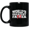 Image of World's Greatest Father (Farter) Black Mugs