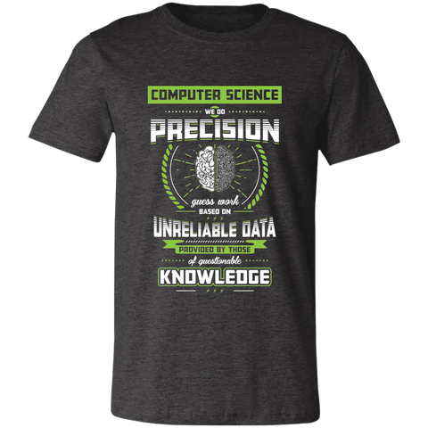 Computer Science Pride Bella Unisex  Short-Sleeve T-Shirt