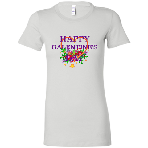 Happy Galentine's 6004 Bella + Canvas Ladies' Favorite T-Shirt