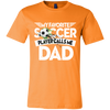 Image of Favorite Soccer Player Calls Me Dad Short-Sleeve T-Shirt
