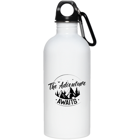 Adventure Awaits 20 oz. Stainless Steel Water Bottle