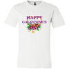 Image of Happy Galentine's 3001C Bella + Canvas Unisex Jersey Short-Sleeve T-Shirt - Sweet Dragon Mama