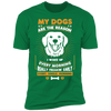 Image of My Dogs Are the Reason  Short Sleeve T-Shirt