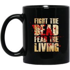Fight the Dead Black Mug