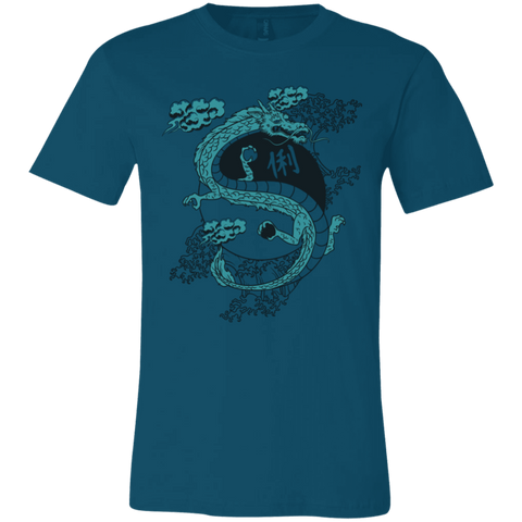 Yin Yang Dragon Bella Unisex  Short-Sleeve T-Shirt