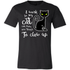 Image of I Work so My Cat... Unisex Short-Sleeve T-Shirt