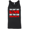 Image of You Can't Buy Love 3480 Bella + Canvas Unisex Tank