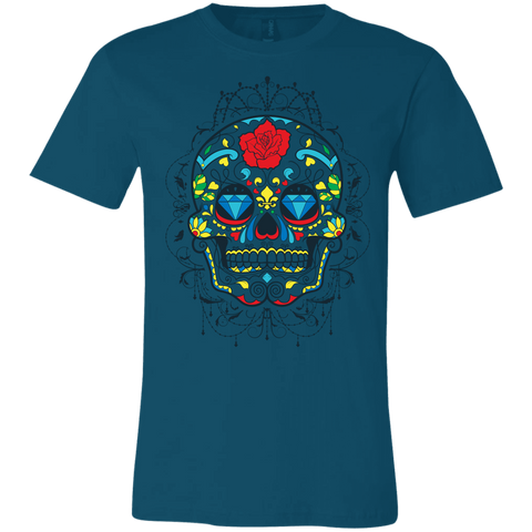 Sugar Skull Bella Unisex  Short-Sleeve T-Shirt