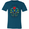Image of Sugar Skull Bella Unisex  Short-Sleeve T-Shirt