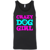 Image of Crazy Dog Girl 3480 Bella + Canvas Unisex Tank
