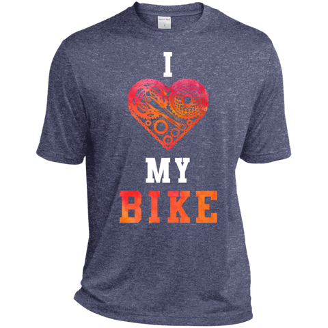 I Love My Bike Moisture-Wicking T-Shirt