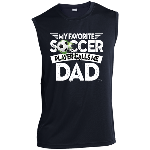Favorite Soccer Player Calls Me Dad Performance T-Shirt