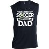 Image of Favorite Soccer Player Calls Me Dad Performance T-Shirt