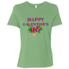 Image of Happy Galentine's Ladies' Relaxed Jersey Short-Sleeve T-Shirt