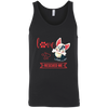 Image of Love Rescued Me 3480 Bella + Canvas Unisex Tank