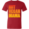 Image of Hot Vegan Mama Unisex Short-Sleeve T-Shirt