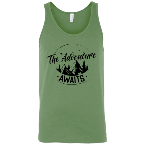 Adventure Awaits 3480 Bella + Canvas Unisex Tank