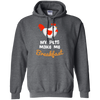 Image of My Pets Make Me Breakfast G185 Gildan Pullover Hoodie 8 oz.