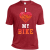 Image of I Love My Bike Moisture-Wicking T-Shirt