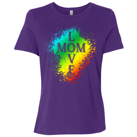 Love Mom- Short-Sleeve T-Shirt