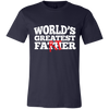 Image of World's Greatest Fa(th)er Bella Jersey Short-Sleeve T-Shirt