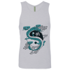 Image of Yin/Yang Dragon Next Level Men's Cotton Tank - Sweet Dragon Mama