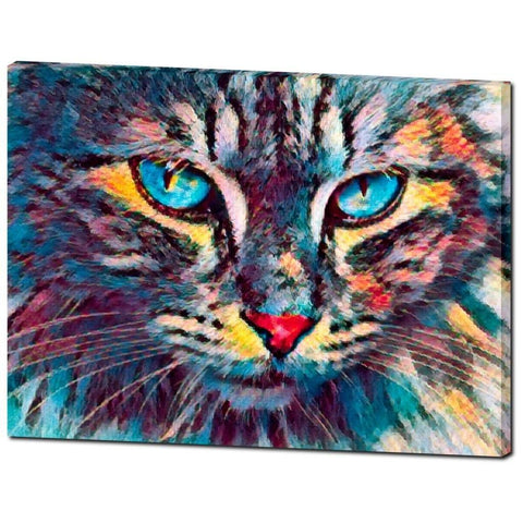 """Jungle Kitty""- Premium Canvas Gallery Wrap"