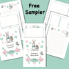 Image of Grandma and Me -A Printable Interactive Journal and Activity Book - Sweet Dragon Mama