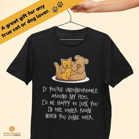 If You're Uncomfortable.... Bella Unisex Short-Sleeve T-Shirt