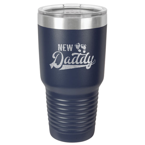 Polar Camel 30oz Ringneck Tumbler New Daddy, 8 colors