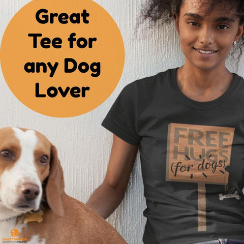 Free Hugs for Dogs Unisex Jersey Short-Sleeve T-Shirt