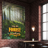 Image of Forest Morning Premium Canvas Wrap with and without Frame