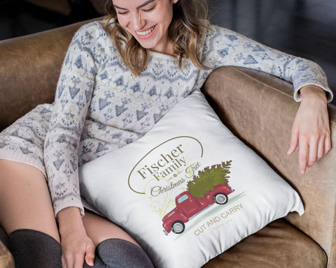 Cut And Carry - Pillow Case Personalized Pillow Cover