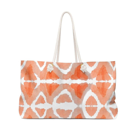 Peachy Weekender Bag - Sweet Dragon Mama
