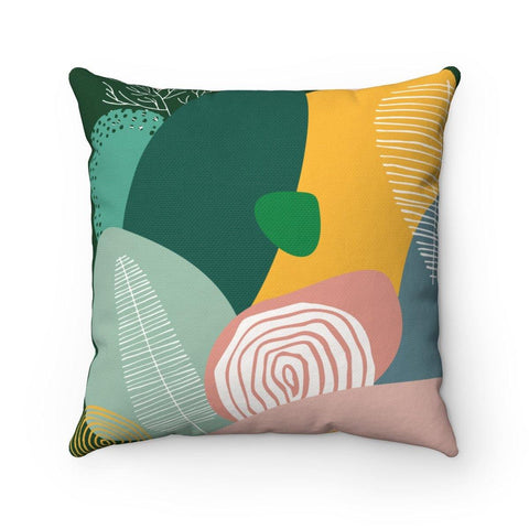 Spring Has Sprung Spun Polyester Square Pillow