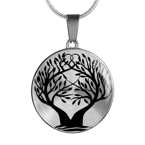 Tree of Life Love Wreath- Necklace/Bangle Bracelet,engraved