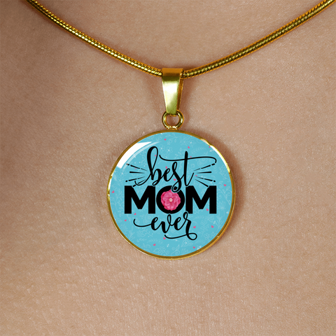 Best Mom Ever, Necklace or Bangle, personalized