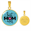 Image of Best Mom Ever, Necklace or Bangle, personalized - Sweet Dragon Mama
