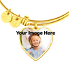 Image of Heart Necklace/ Bracelet- Upload Your Own Photo!