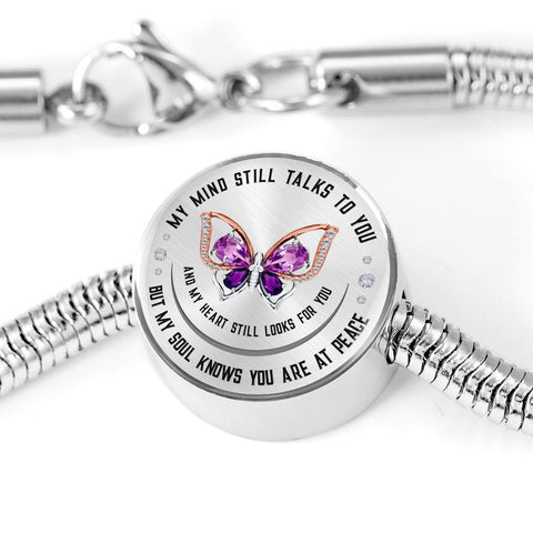 My Soul Knows Bracelet and Charm, Optional Engraving