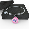 Image of FirstMomsDay2018Pink,Bracelet or Bangle personalized